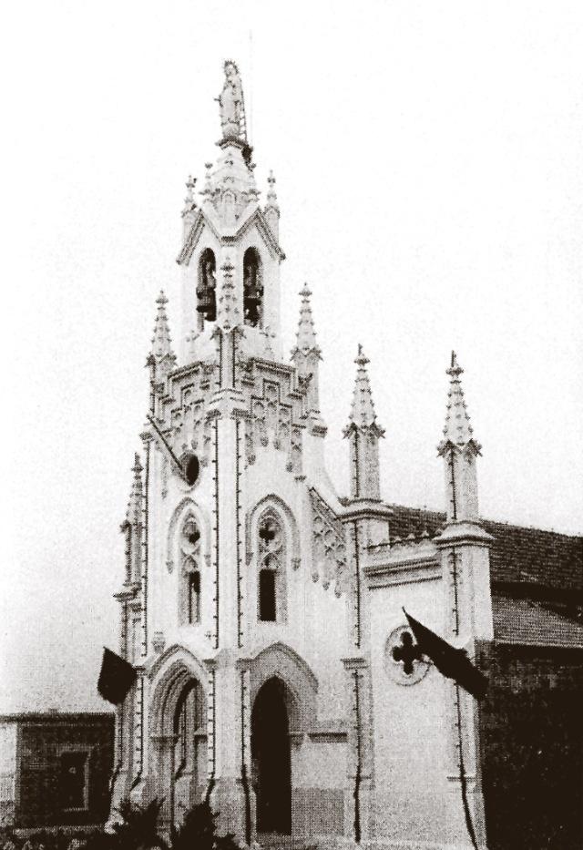 Aspecto del monumento el día de su inauguración el 23 de septiembre de 1928