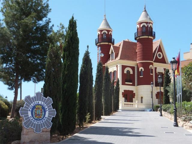 Imagen del Castillito en la actualidad. Sede de la Policía Local.